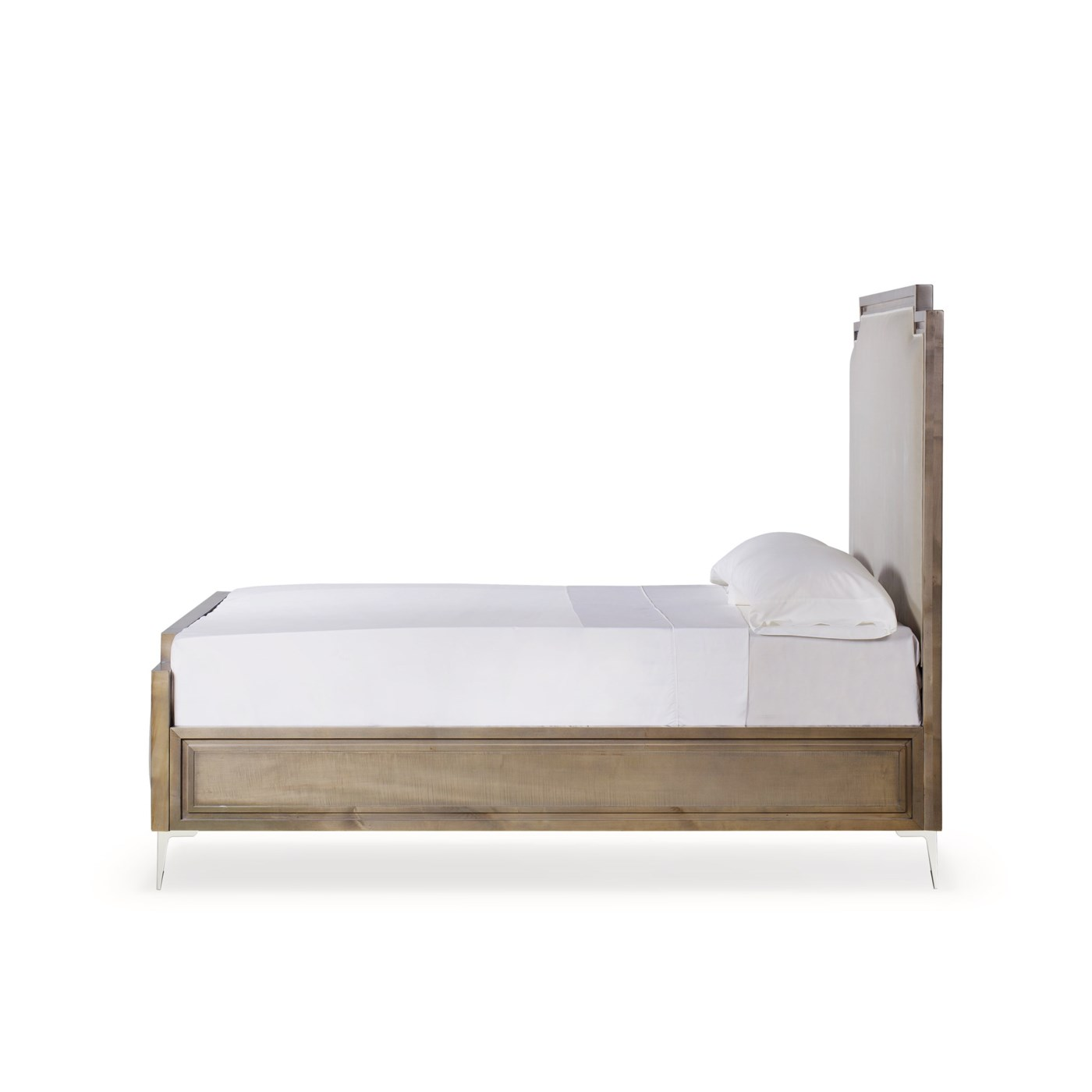 Chloe Upholstered Bed - US King / Vera Whisper
