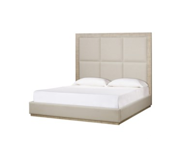 Raffles US King Bed - 6 Panels / Norman Ivory