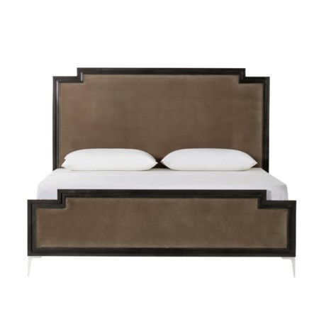 Chloe Dark Bed - Vadit Chocolate / US King
