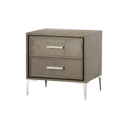 Chloe Nightstand - 2 Drawer / Small