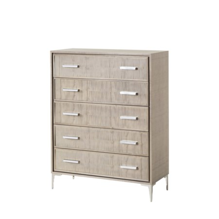 Chloe Light Chest - 5 Drawer