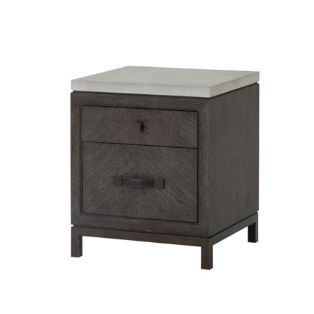 Emerson Nightstand - 2 Drawer
