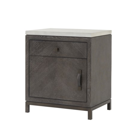 Emerson Nightstand - 1 Drawer & 1 Door