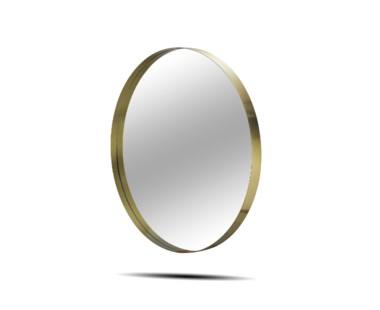 """Darcy Mirror - Round 48""""/Brass"""