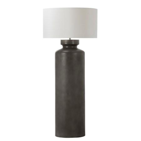 Longfellow Floor Lamp - White Shade / 120v US