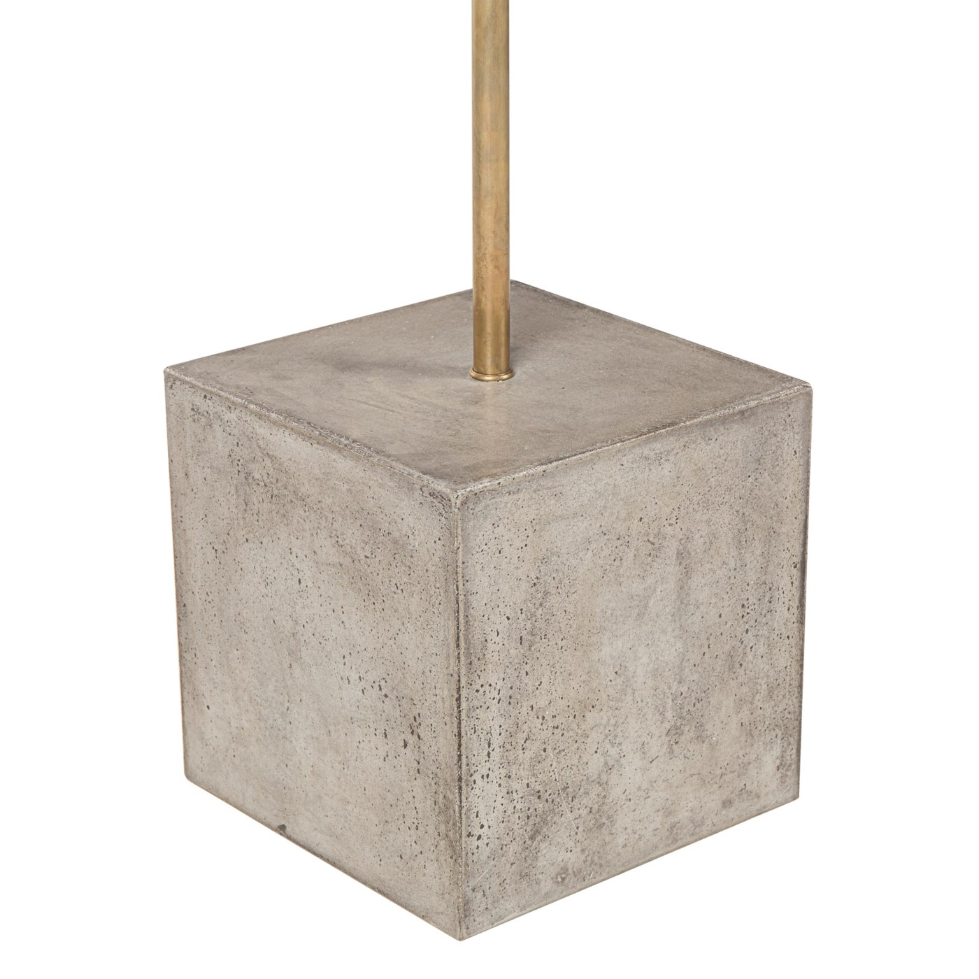 Untitled Floor Lamp - Square / White Shade