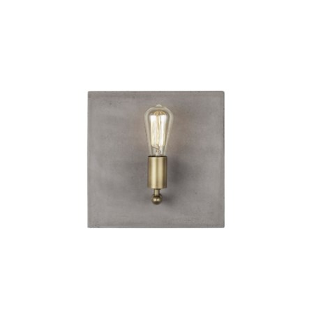 Factory Sconce - Single / Aged Brass / 120v US