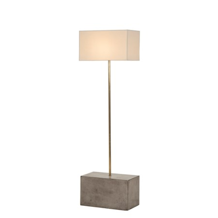 Untitled Floor Lamp - Large / White Shade / 120v US