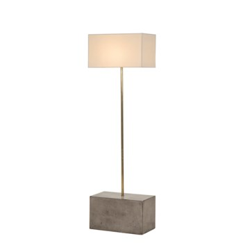 Untitled Floor Lamp - Large / White Shade