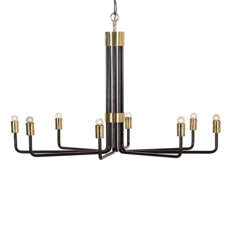 Le Marais Chandelier - 8 Light / Black / 120v US