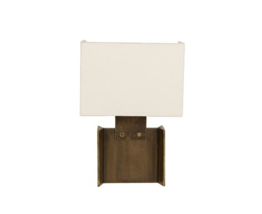 I-Beam Sconce - Bronze