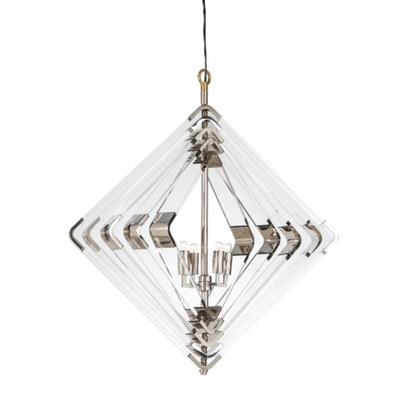 Spiral Acrylic Diamond - 5 Layer / Nickel / 120v US
