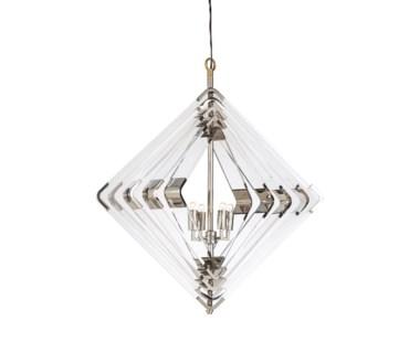 Spiral Acrylic Diamond - 5 Layer / Nickel