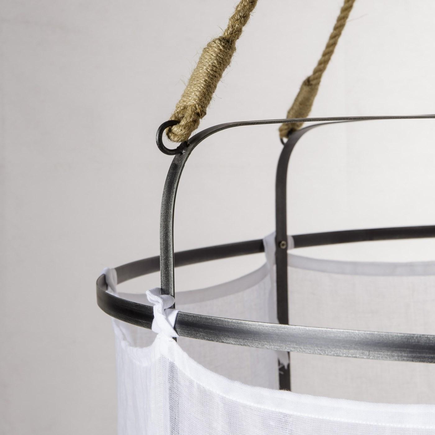 French Laundry Light - Large / White / 120v US
