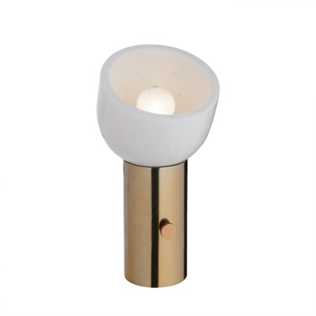One Scoop Lamp - Copper / 120v US
