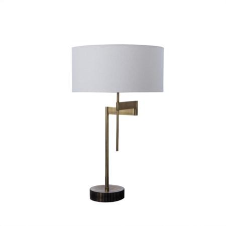 Gear Swing Lamp - Burned Brass / 120v US