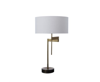 Gear Swing Lamp - Burned Brass