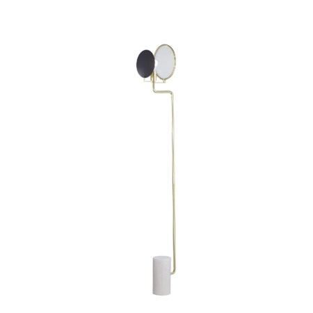 Eclipse Floor Lamp - Brass / 120v US