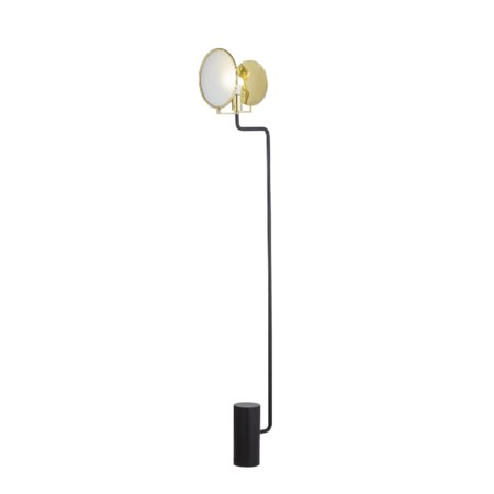 Eclipse Floor Lamp - Black / 120v US