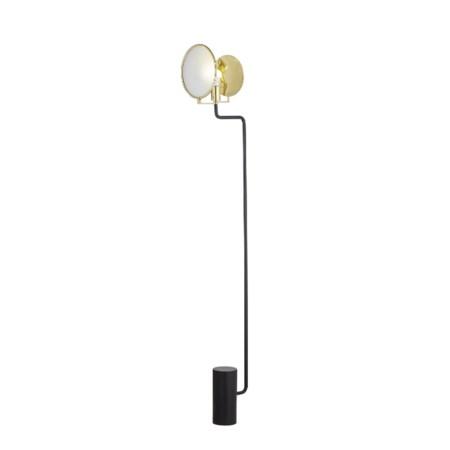 Eclipse Floor Lamp - Black / 120v US