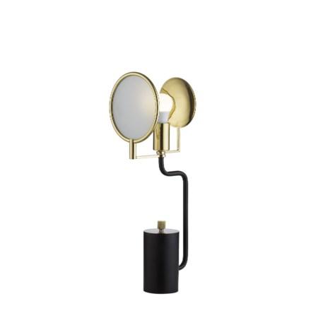 Eclipse Table Lamp - Black / 120v US