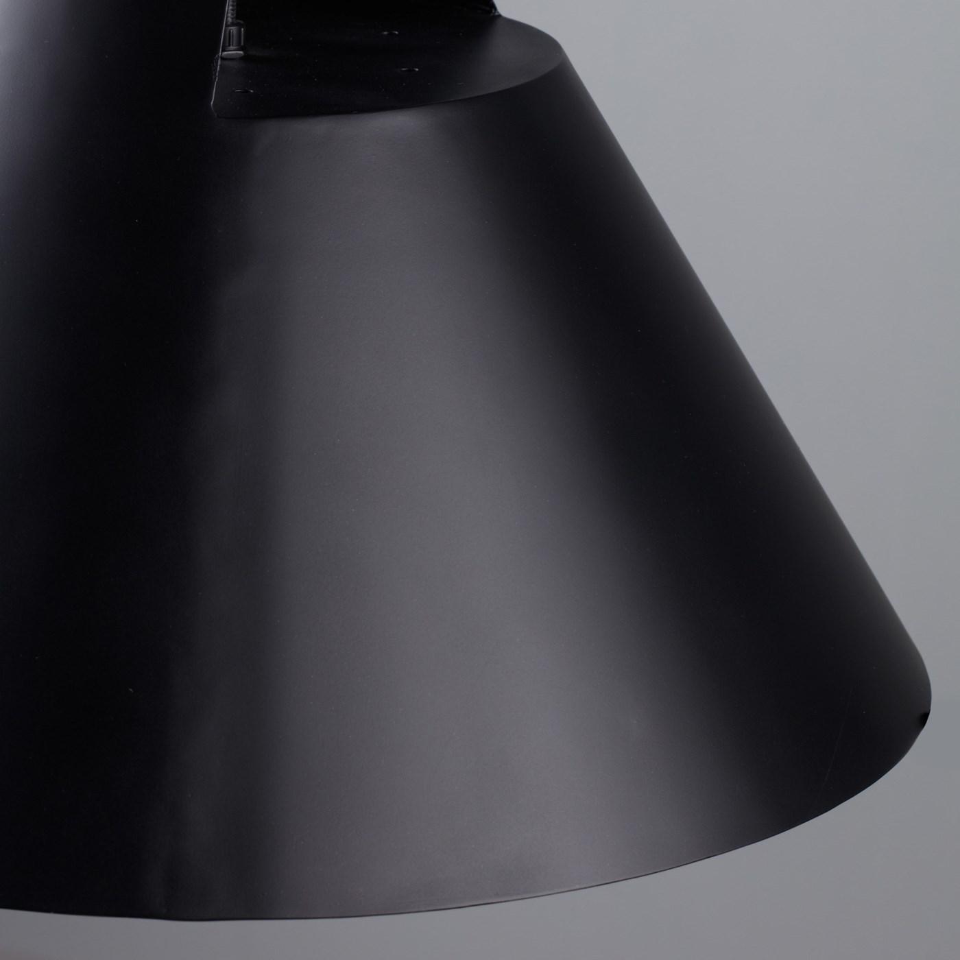 Kettle Pendant 35 - Black Iron / 120v US