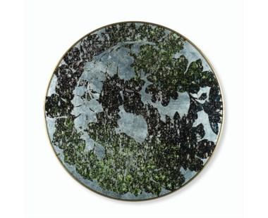 Silver Leaf Floral - Medium