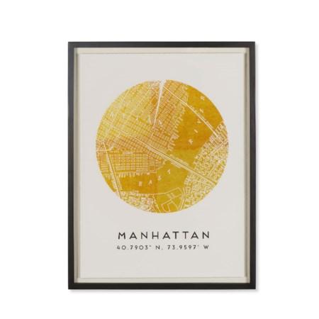 Coordinates - Manhattan