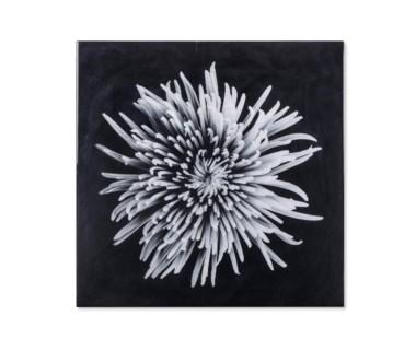 Black & White Flower - Epoxy / A