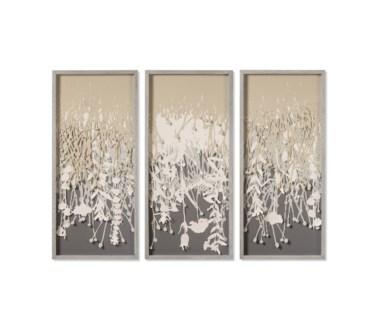 Paper Vines Triptych