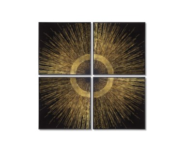 Gold Leaf Quadrant