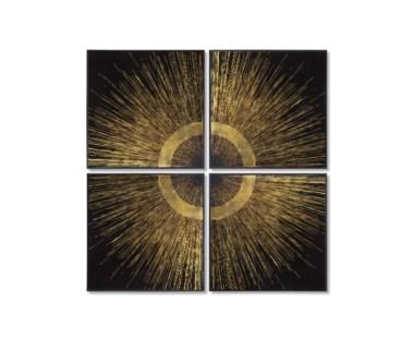Gold Leaf Quadrant