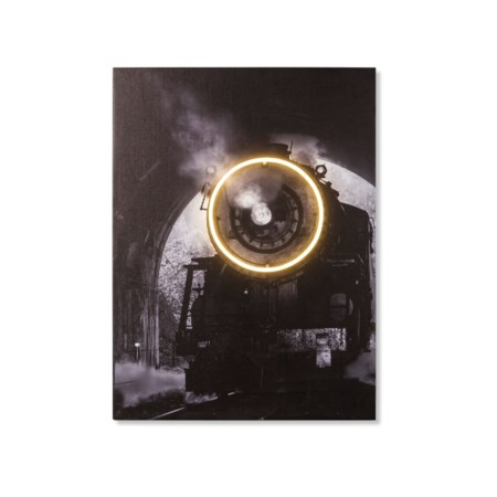 LED Neon Steam Train