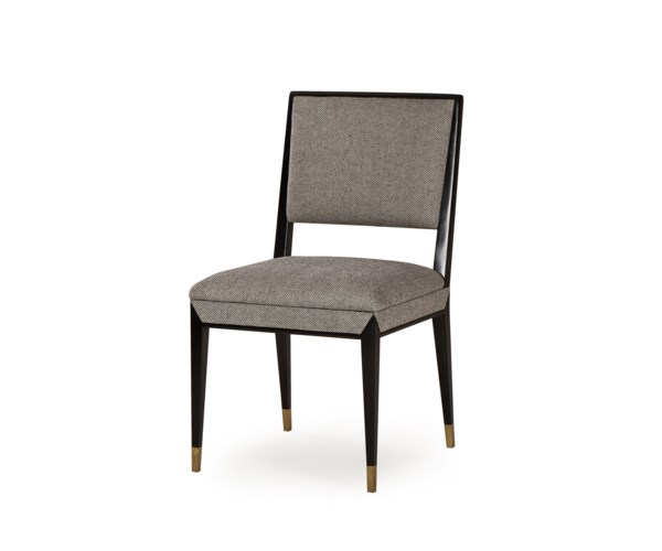 Reform Side Chair - Black / Winston Speckle