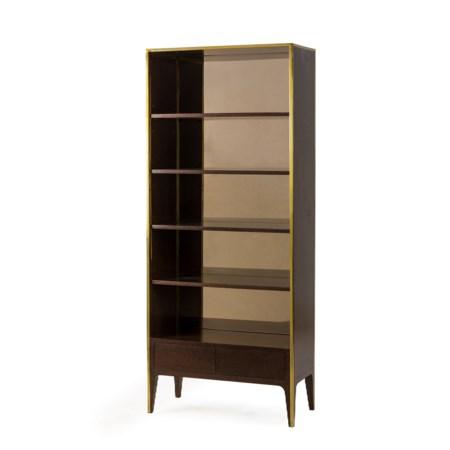 Silhouette Bookcase - Smoked Eucalyptus