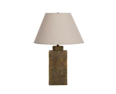 Ceramic Caddy Lamp - Gold