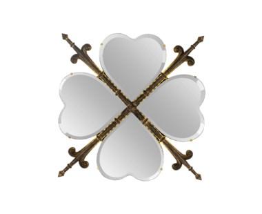 Heraldic Heart Mirror
