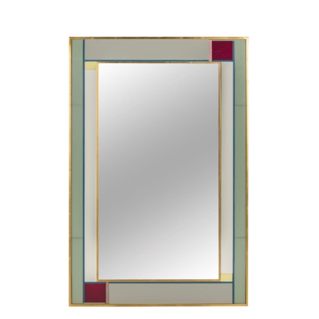 Patched Mica Mirror