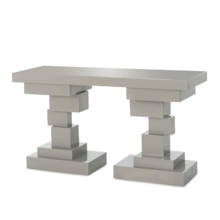 Morgan Console Table - Grey Lacquer