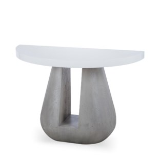 Gray Console Table