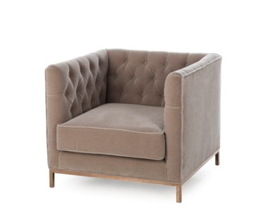 Vinci Tufted Occasional Chair - Vic Stone