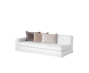 Jackson Modular Sofa - Left Arm Facing / Warm White