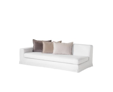Jackson Modular Sofa - Left Arm Facing / Warm White