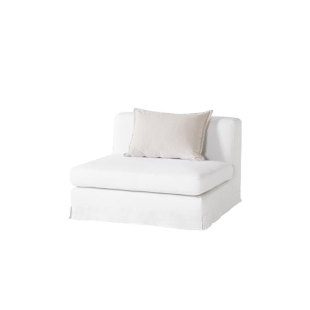Jackson Modular Sofa - 1 - Seat No Arms / Warm White