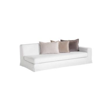 Jackson Modular Sofa - Right Arm Facing / Warm White