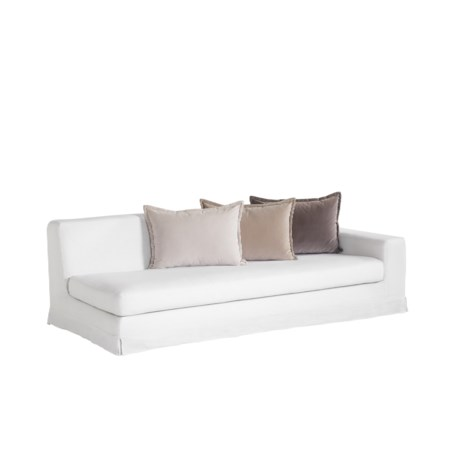 Jackson Modular Sofa - Right Arm Facing / Warm White