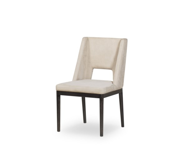 Maddison Dining Chair - Finley Beige Leather