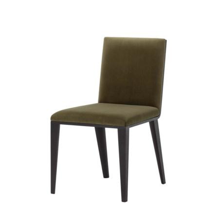Ayda Dining Chair - Olive Green Velvet