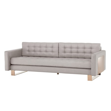 Vinci Sofa - High Back in Malik Taupe