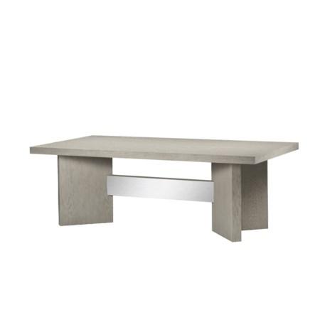 "Calvin Dining Table - 72"" in Grey Oak"